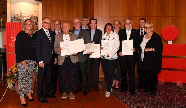 Höchste Auszeichnung für verdiente Verwaltungsratsmitglieder