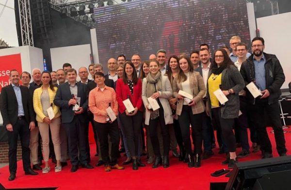 Sparkasse ehrt 40 erfolgreiche Absolventen von Weiterbildungsmaßnahmen