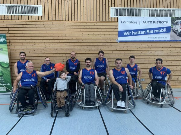 Rollstuhlbasketball mit den SfD Rollis Bad Kreuznach