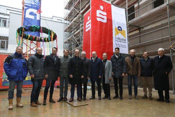 Richtfest Kelteneck in Ingelheim: Alles unter Dach und Fach