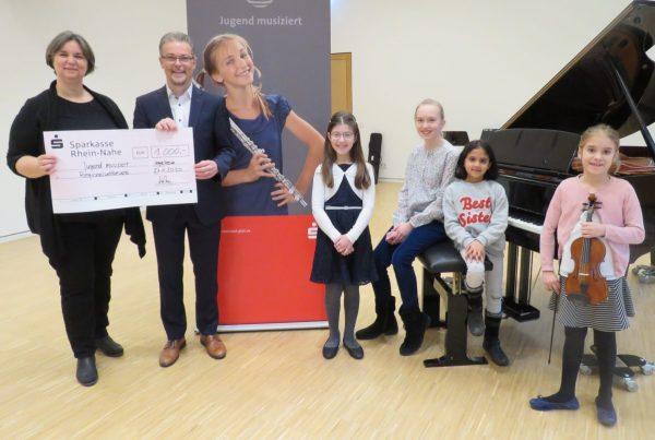 """57. Regionalwettbewerb """"Jugend musiziert"""" 2020 in der Musikschule Ingelheim"""