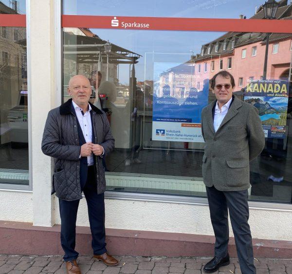 Gemeinsame Pressinformation der Sparkasse Rhein-Nahe und der Volksbank Rhein-Nahe-Hunsrück eG
