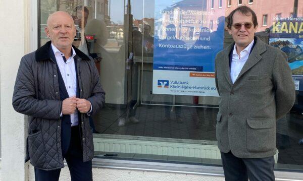 Sparkasse Rhein-Nahe und Volksbank Rhein-Nahe-Hunsrück eG helfen der Gastronomie und dem von den Schließungen betroffenen Kleingewerbe