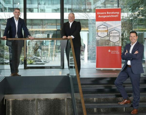 Auszeichnung für die Sparkasse Rhein-Nahe von der WELT und FOCUS-MONEY