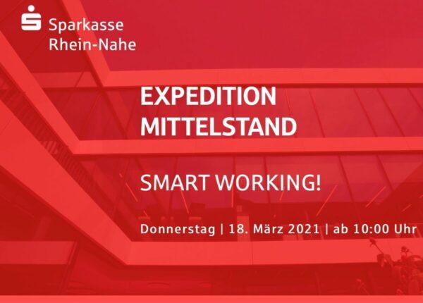 """Smart Working! Sparkasse geht auf erste digitale """"Expedition Mittelstand"""""""