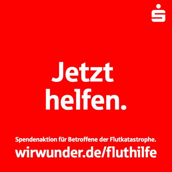 Solidaraktion der rheinland-pfälzischen Sparkassenfamilie: 1 Million Euro für Opfer der Unwetterkatastrophe