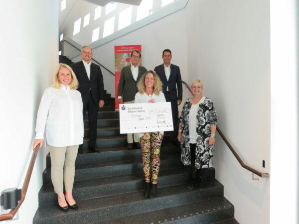 Stiftung Jugend der Sparkasse Rhein-Nahe unterstützt Jugendarbeit in der Region mit 40.000,- Euro